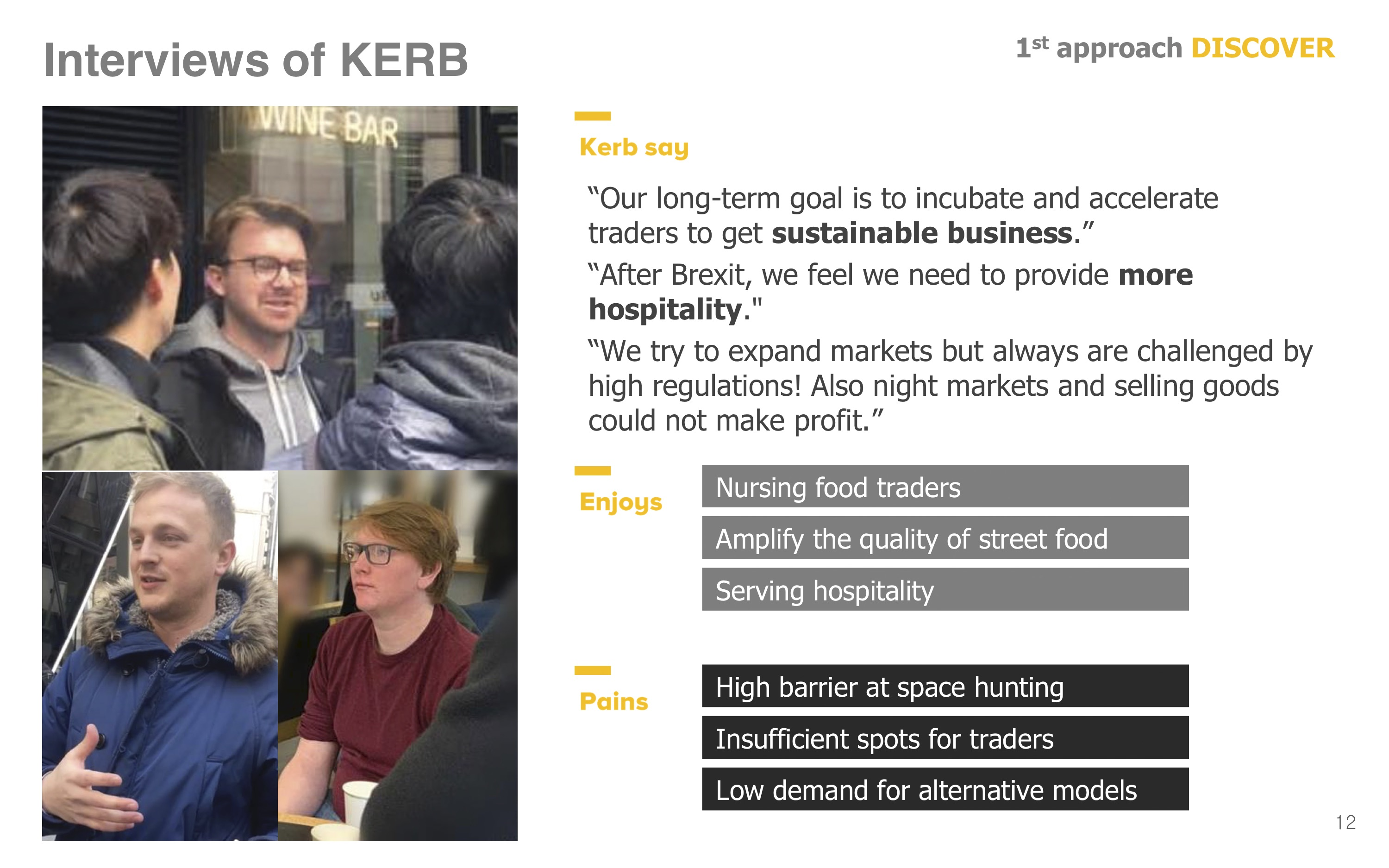 Interview of KERB