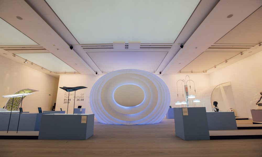 LONDON, UK: British Airways BA2119 Flight of The Future event in collaboration with the Royal College of Art at Saatchi Gallery in London on 30 July 2019(Picture by Nick Morrish/British Airways)